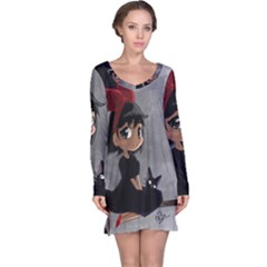 Kiki4nab16 Long Sleeve Nightdress