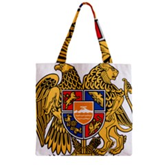Coat Of Arms Of Armenia Zipper Grocery Tote Bag by abbeyz71