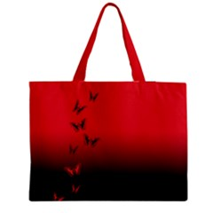 Lepidopteran Medium Zipper Tote Bag