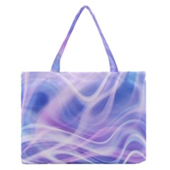 Abstract Graphic Design Background Medium Zipper Tote Bag by Zeze