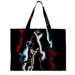 Street cats Zipper Mini Tote Bag