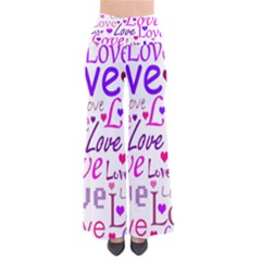 Love pattern Pants by Valentinaart