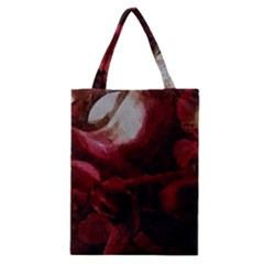 Dark Red Candlelight Candles Classic Tote Bag by yoursparklingshop