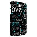 Valentine s day pattern - cyan Samsung Galaxy Tab 3 (7 ) P3200 Hardshell Case  View2