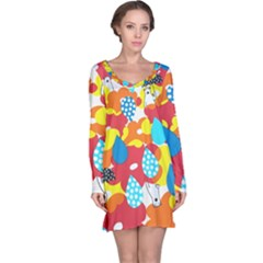 Bear Umbrella Long Sleeve Nightdress
