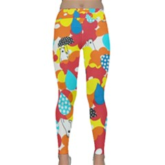 Bear Umbrella Classic Yoga Leggings