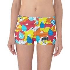 Bear Umbrella Boyleg Bikini Bottoms