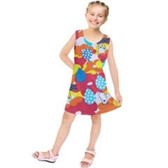 Bear Umbrella Kids  Tunic Dress