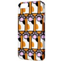 Cute Cat Hand Orange Apple iPhone 5 Classic Hardshell Case View3