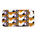 Cute Cat Hand Orange Apple iPhone 4/4S Hardshell Case with Stand View1
