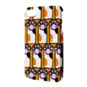 Cute Cat Hand Orange Apple iPhone 4/4S Hardshell Case with Stand View3