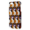 Cute Cat Hand Orange Apple iPhone 5 Premium Hardshell Case View3