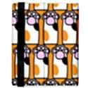 Cute Cat Hand Orange Samsung Galaxy Tab 8.9  P7300 Flip Case View3