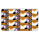 Cute Cat Hand Orange Samsung Galaxy Tab Pro 8.4 Hardshell Case View1
