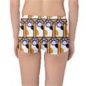 Cute Cat Hand Orange Reversible Bikini Bottoms View2