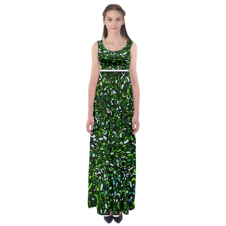 Into The Forest  by WBK:  Empire Waist Maxi Dress
