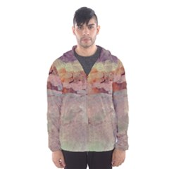 Sunrise Hooded Wind Breaker (men) by theunrulyartist