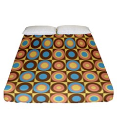 Round Color Fitted Sheet (california King Size)