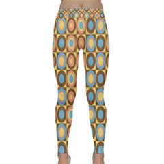 Round Color Classic Yoga Leggings by AnjaniArt