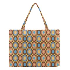 Round Color Medium Tote Bag by AnjaniArt