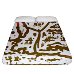 The Dance Fitted Sheet (california King Size)
