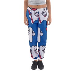 Tooth Women s Jogger Sweatpants by AnjaniArt