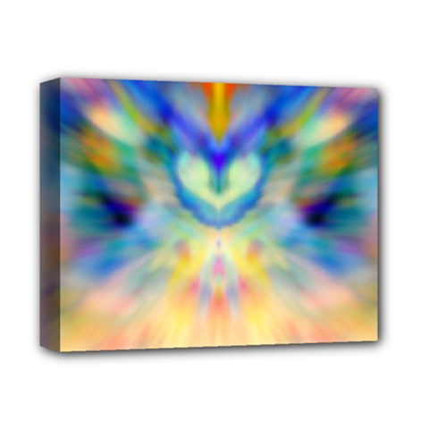 a Guardian Angel  By Wbk: Deluxe Canvas 14  X 11  (framed) by wbk1