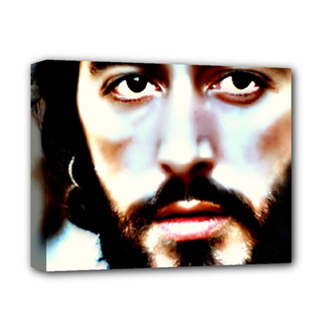 al Pacino  By Wbk:  Deluxe Canvas 14  X 11  (framed) by wbk1