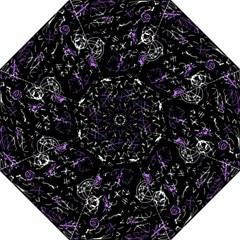 Abstract Mind   Purple Straight Umbrellas by Valentinaart