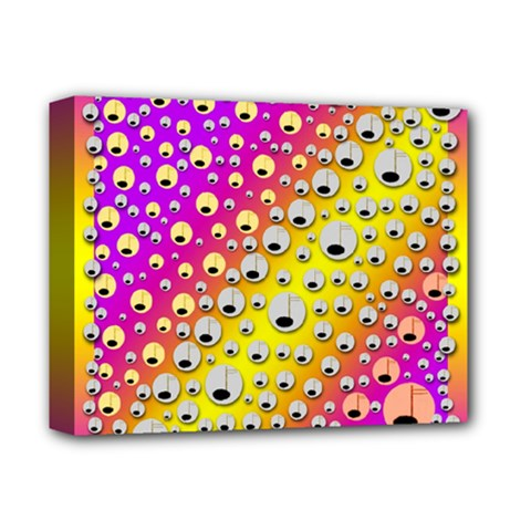 Happy And Merry Music Deluxe Canvas 14  X 11  by pepitasart