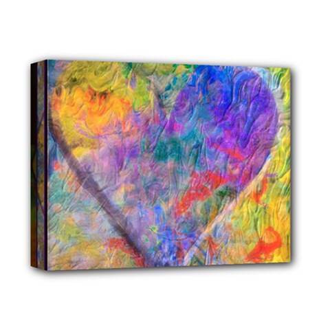One Love Pastel Montage 2016 Deluxe Canvas 14  X 11  (framed) by wbk1