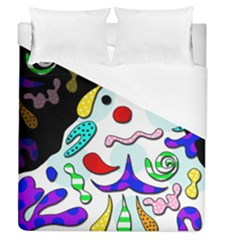 Candy Man` Duvet Cover (queen Size) by Valentinaart