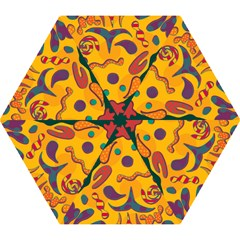 Candy Man 2 Mini Folding Umbrellas by Valentinaart
