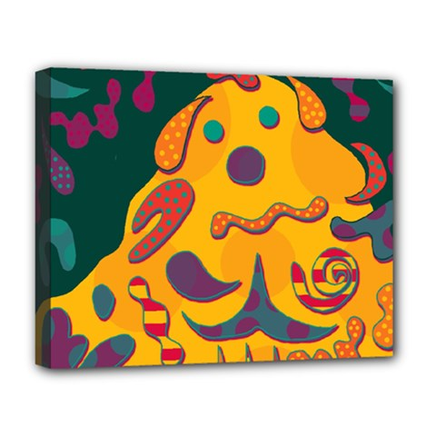 Candy Man 2 Deluxe Canvas 20  X 16   by Valentinaart