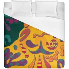 Candy man 2 Duvet Cover (King Size) by Valentinaart