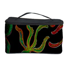 Octopuses Pattern 4 Cosmetic Storage Case by Valentinaart