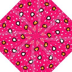 Rainy Day   Pink Folding Umbrellas by Moma