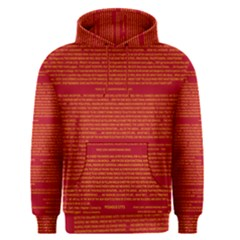 Writing Grace Men s Pullover Hoodie by MRTACPANS