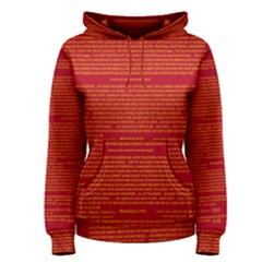 Writing Grace Women s Pullover Hoodie by MRTACPANS