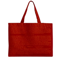 Writing Grace Medium Tote Bag by MRTACPANS