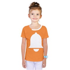Bell Orange Copy Kids  One Piece Tee by AnjaniArt