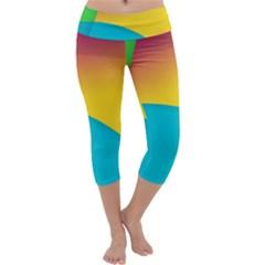 Bok Capri Yoga Leggings by AnjaniArt