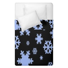 Blue Black Resolution Version Duvet Cover Double Side (single Size) by AnjaniArt