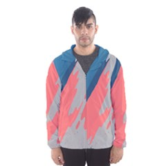Colorful Hooded Wind Breaker (men) by AnjaniArt