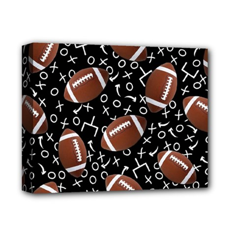 Football Player Deluxe Canvas 14  X 11  by AnjaniArt