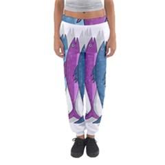 Mackerel Miltary Women s Jogger Sweatpants by Valentinaart
