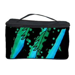 Green Fish Cosmetic Storage Case by Valentinaart