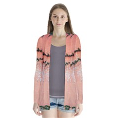 Background Stone Wall Pink Tree Cardigans by Zeze