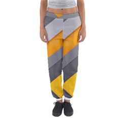 Marshmallow Yellow Women s Jogger Sweatpants by AnjaniArt