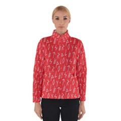 Red Alphabet Winterwear by AnjaniArt
